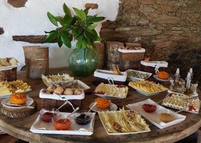 Pazo de Santa Cruz, celebrar bodas en Coruña, eventos en coruña -  celebración de bodas en Coruña - cocina moderna Coruña